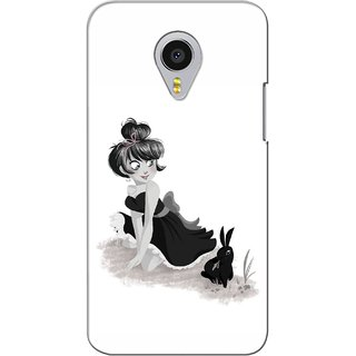 G.store Printed Back Covers for Meizu MX4 Pro White 36345