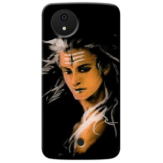 G.store Printed Back Covers for Micromax Canvas A1 Black 36780