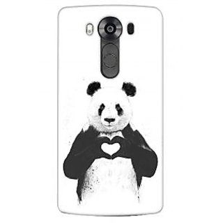 G.store Printed Back Covers for LG V10 White 35995