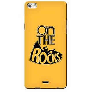 G.store Printed Back Covers for Micromax Canvas 5 Q450 Yellow 36620