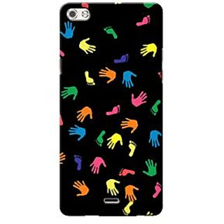 G.store Printed Back Covers for Micromax Canvas 5 Q450 Multi 36634
