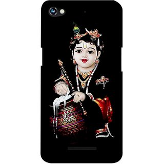 G.store Printed Back Covers for Micromax Canvas Hue 2 A316  Black 37581