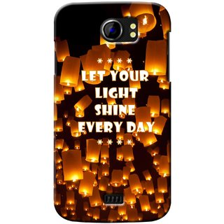 G.store Printed Back Covers for Micromax Canvas 2 A110 Multi 37189