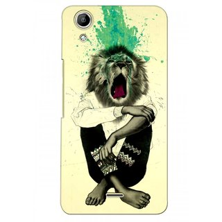 G.store Printed Back Covers for Micromax Canvas Selfie Lens Q345  Multi 38156