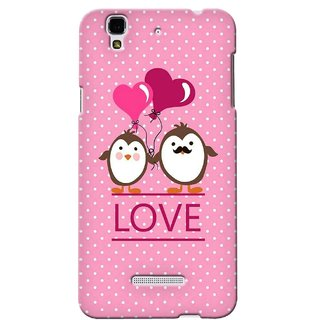 G.store Printed Back Covers for Micromax YU Yureka Pink 38814