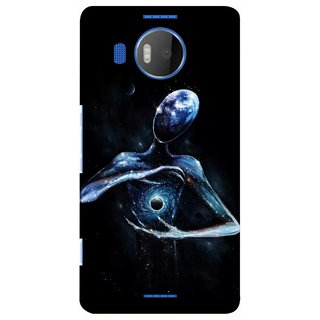 G.store Printed Back Covers for Microsoft Lumia 950 XL Black 39013