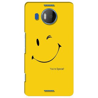G.store Printed Back Covers for Microsoft Lumia 950 XL Yellow 39047