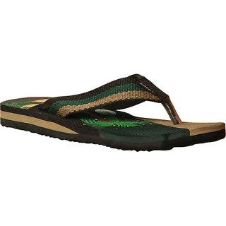Sunshine MenS Surf Green Flip Flops