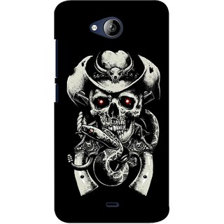G.store Printed Back Covers for Micromax Canvas Play Q355 Black 37996