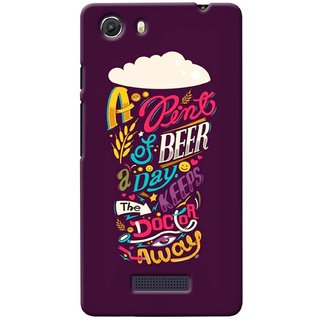 G.store Printed Back Covers for Micromax Unite 3 Q372 Multi 38667