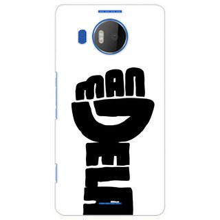 G.store Printed Back Covers for Microsoft Lumia 950 XL White 39063