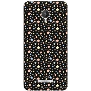 G.store Printed Back Covers for Micromax Canvas Spark Q380 Black 38471