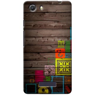 G.store Printed Back Covers for Micromax Unite 3 Q372 Multi 38698