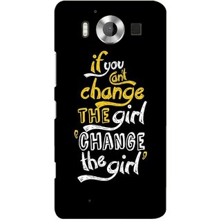 G.store Printed Back Covers for Microsoft Lumia 950 Black 38903
