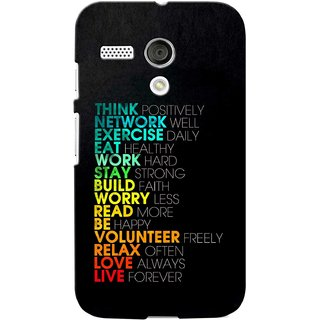 G.store Printed Back Covers for Motorola Moto G Multi 39442