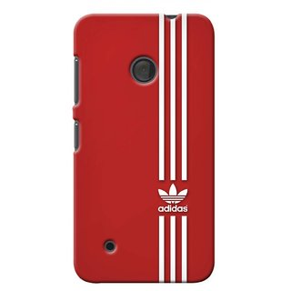 G.store Printed Back Covers for Microsoft Lumia 530  Red 40132