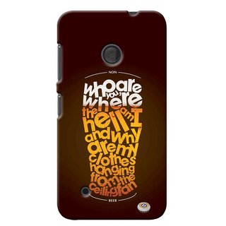 G.store Printed Back Covers for Microsoft Lumia 530  Multi 40169