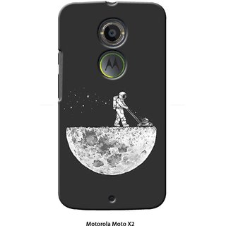 G.store Printed Back Covers for Motorola Moto X (2nd Gen)  Grey 39976