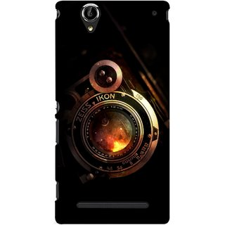 G.store Printed Back Covers for Sony Xperia T2 Ultra Black 46512
