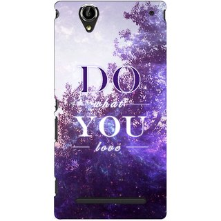 G.store Printed Back Covers for Sony Xperia T2 Ultra Multi 46524