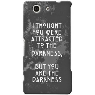G.store Printed Back Covers for Sony Xperia Z4 Compact Grey 47273