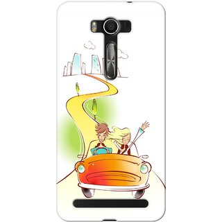 G.store Hard Back Case Cover For Asus ZenFone 2 laser ZE500KL 48649