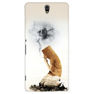 G.store Printed Back Covers for Sony Xperia C5 Ultra White 28959