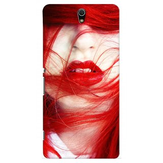 G.store Printed Back Covers for Sony Xperia C5 Ultra Red 28979