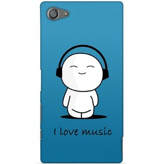 G.store Printed Back Covers for Sony Xperia Z5 Compact Blue 29248
