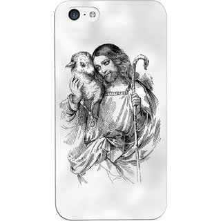 G.store Printed Back Covers for Apple iPhone 5C White 29800