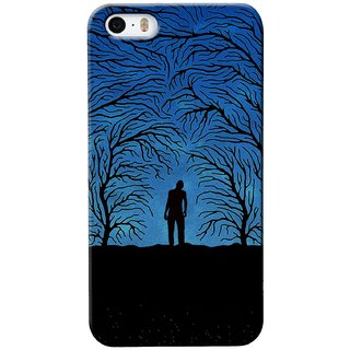 G.store Printed Back Covers for Apple iPhone 4S Blue 29519