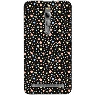 G.store Printed Back Covers for Asus Zenfone  2 Black 30571