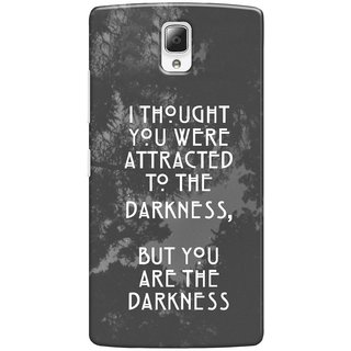 G.store Printed Back Covers for Lenovo a2010 Grey 34173