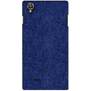 G.store Printed Back Covers for Lava Iris 800 blue 34078