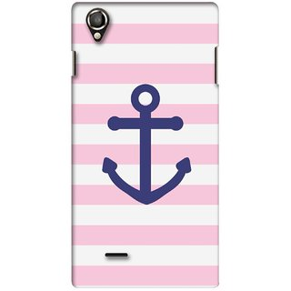 G.store Printed Back Covers for Lava Iris 800 Pink 34083