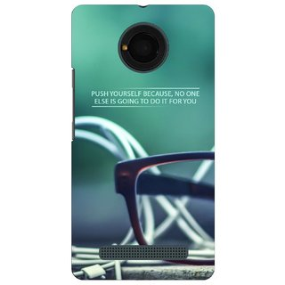 G.store Hard Back Case Cover For Micromax Yu Yunique 51208