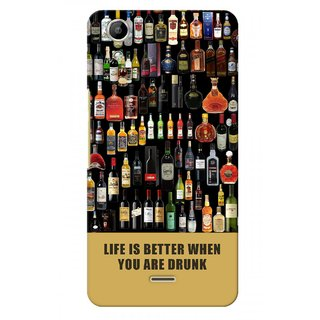 G.store Hard Back Case Cover For Micromax Canvas Selfie 2 Q340 51017