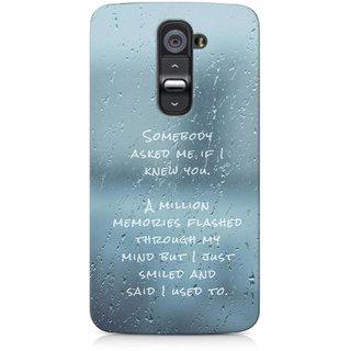 G.store Hard Back Case Cover For LG G2 50396