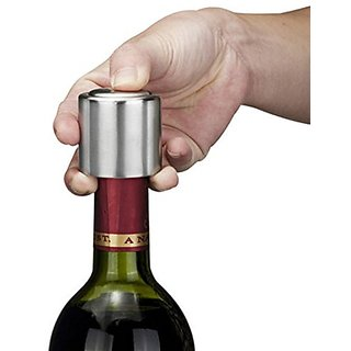 Futaba Vacuum Sealed Wine Bottle Stopper Stainless Steel Plug