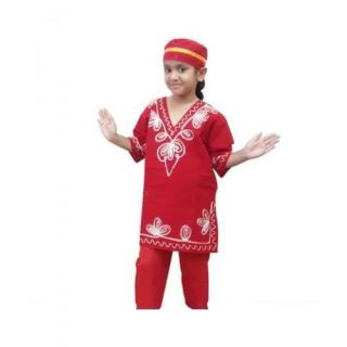 Kashmiri Costume for Fancy Dress Competition for Kids  regional dress Costume