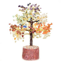 Reiki Crystal Products 7 Chakra Crystal Tree 300 Beads