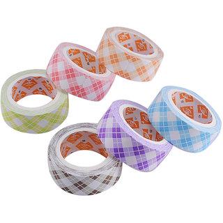 Saamarth Impex Colourful  Decorative Adhesive Paper Tape Rolls SI-532