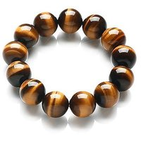 Healing Reiki Crystal Tiger Eye Beads Bracelet
