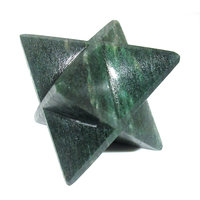 Green Kyanite Merkaba Star Large Crystal Sacred Geometry Reiki Point 8 Healing