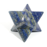 Lapis Lazuli Blue Merkaba Star Large Crystal Sacred Geometry Quartz Reiki Point 8 Healing