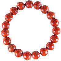 Healing Reiki Crystal Red JasperBeads Bracelet