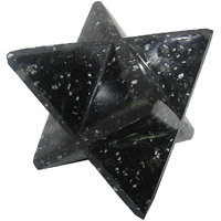 Snowflake Merkaba Star Large Crystal Sacred Geometry Quartz Reiki Point 8 Healing