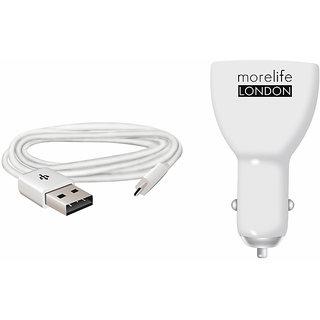 Pahal Morelife Car Dual USB Mobile Charger