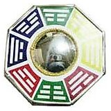 Pa Kua Mirror/ Ba Gua Mirror Large - Diameter 21cm