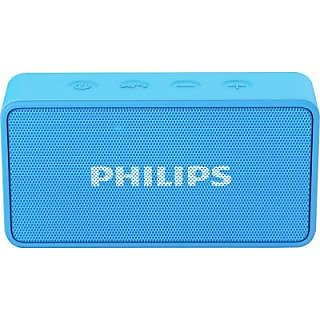 Philips BT64A/94 Portable Bluetooth Mobile/Tablet Speaker(Blue, 1 Channel) with 1 year Philips warranty